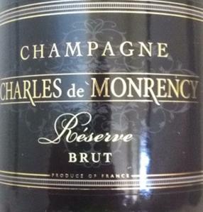 Champagne Charles de Monrency
